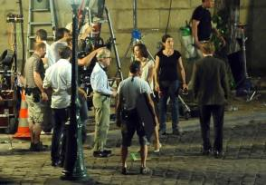 Filming Midnight in Paris (2011)