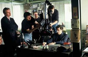 Filming Insomnia (2002) - Behind the Scenes photos
