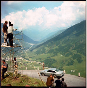 On Location : Goldfinger (1964) - Behind the Scenes photos