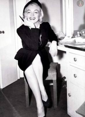 Beautiful Marilyn Monroe - Behind the Scenes photos