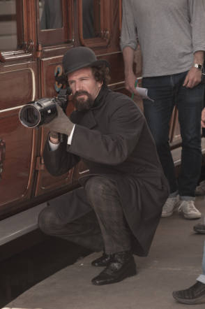 Directing The Invisible Woman (2013) - Behind the Scenes photos