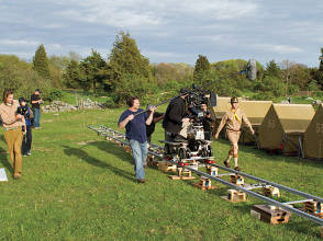 Filming Moonrise Kingdom (2012) - Behind the Scenes photos