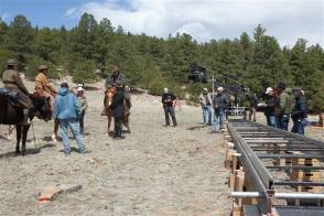 On Location : True Grit (2010) - Behind the Scenes photos
