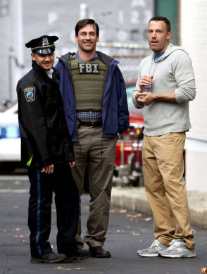 Renner, Hamm & Affleck : The Town (2010) - Behind the Scenes photos