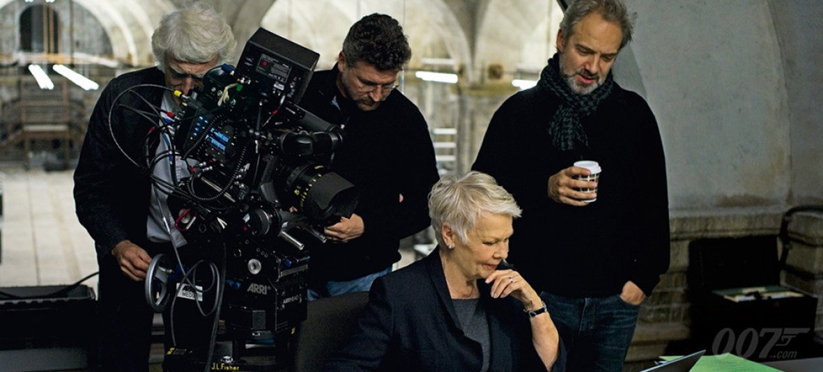 Skyfall Behind the Scenes Photos & Tech Specs