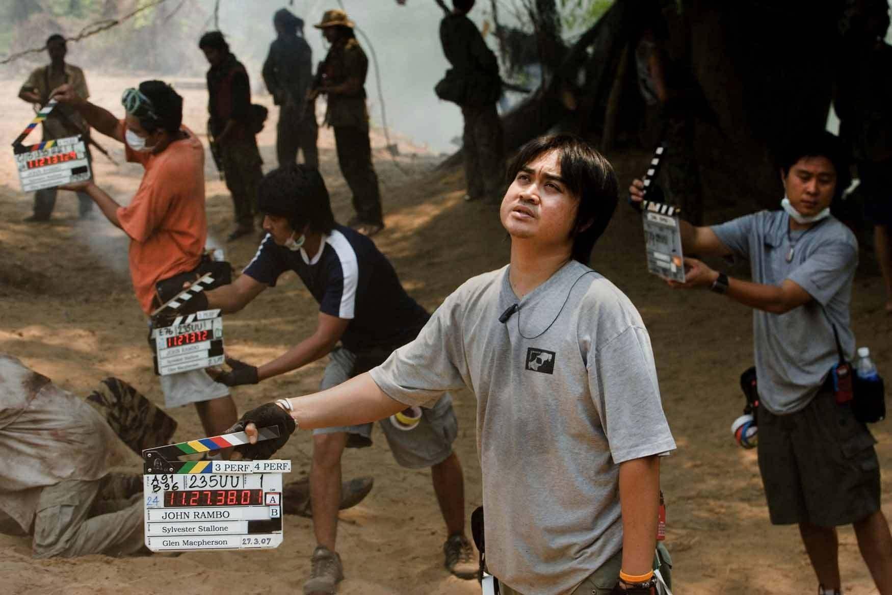 Rambo Behind the Scenes Photos & Tech Specs