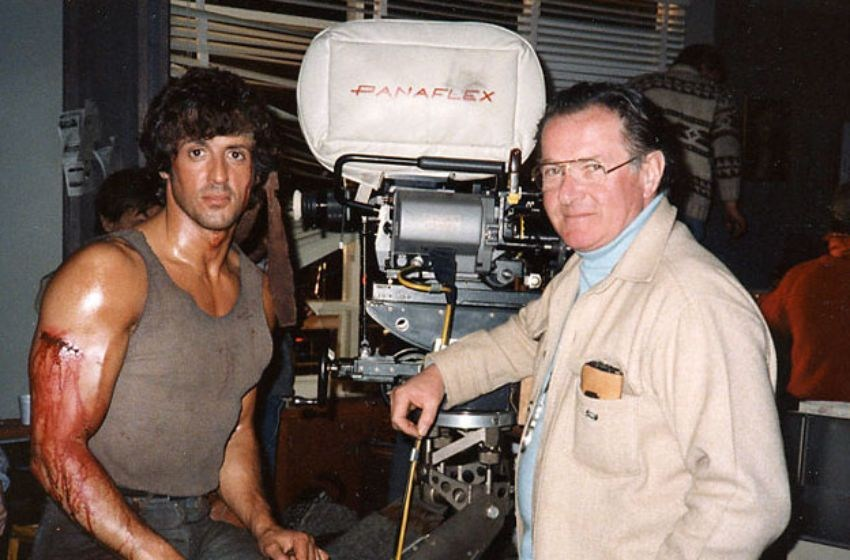 On the Set of First Blood (1982) Behind the Scenes