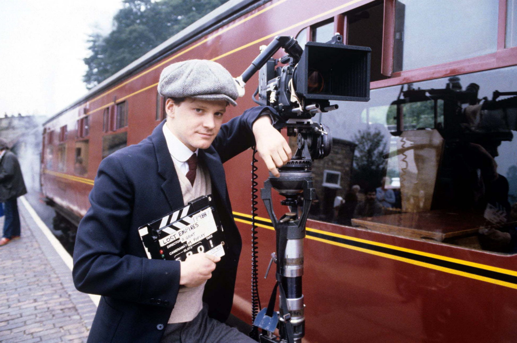Colin Firth in Lost Empires (1986) Behind the Scenes