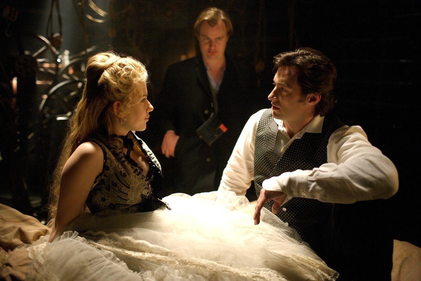 The Prestige Behind the Scenes Photos & Tech Specs