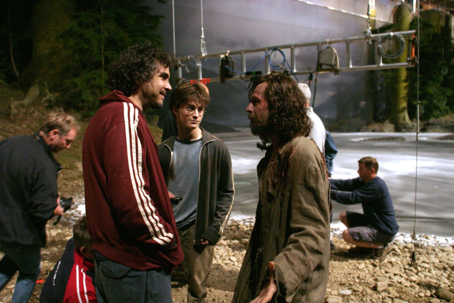 Harry Potter and the Prisoner of Azkaban Behind the Scenes Photos & Tech Specs