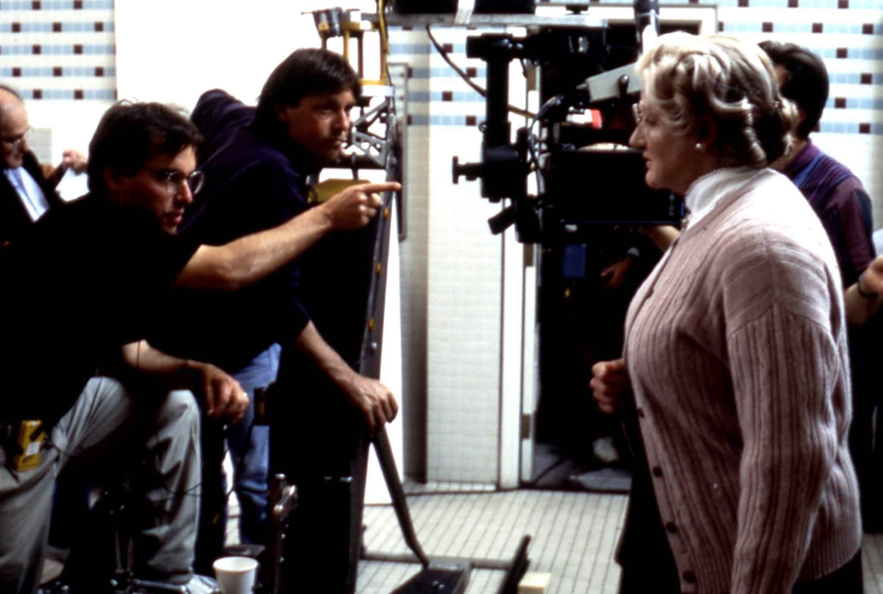 Mrs. Doubtfire Behind the Scenes Photos & Tech Specs