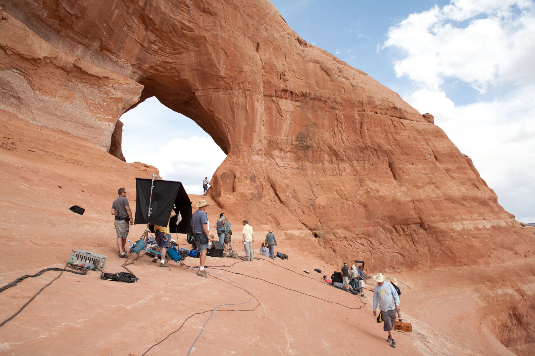 On the Set of 127 Hours (2010) Behind the Scenes