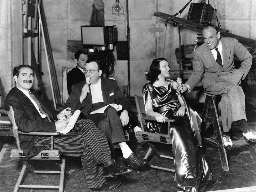 A Night at the Opera (1935) Behind the Scenes