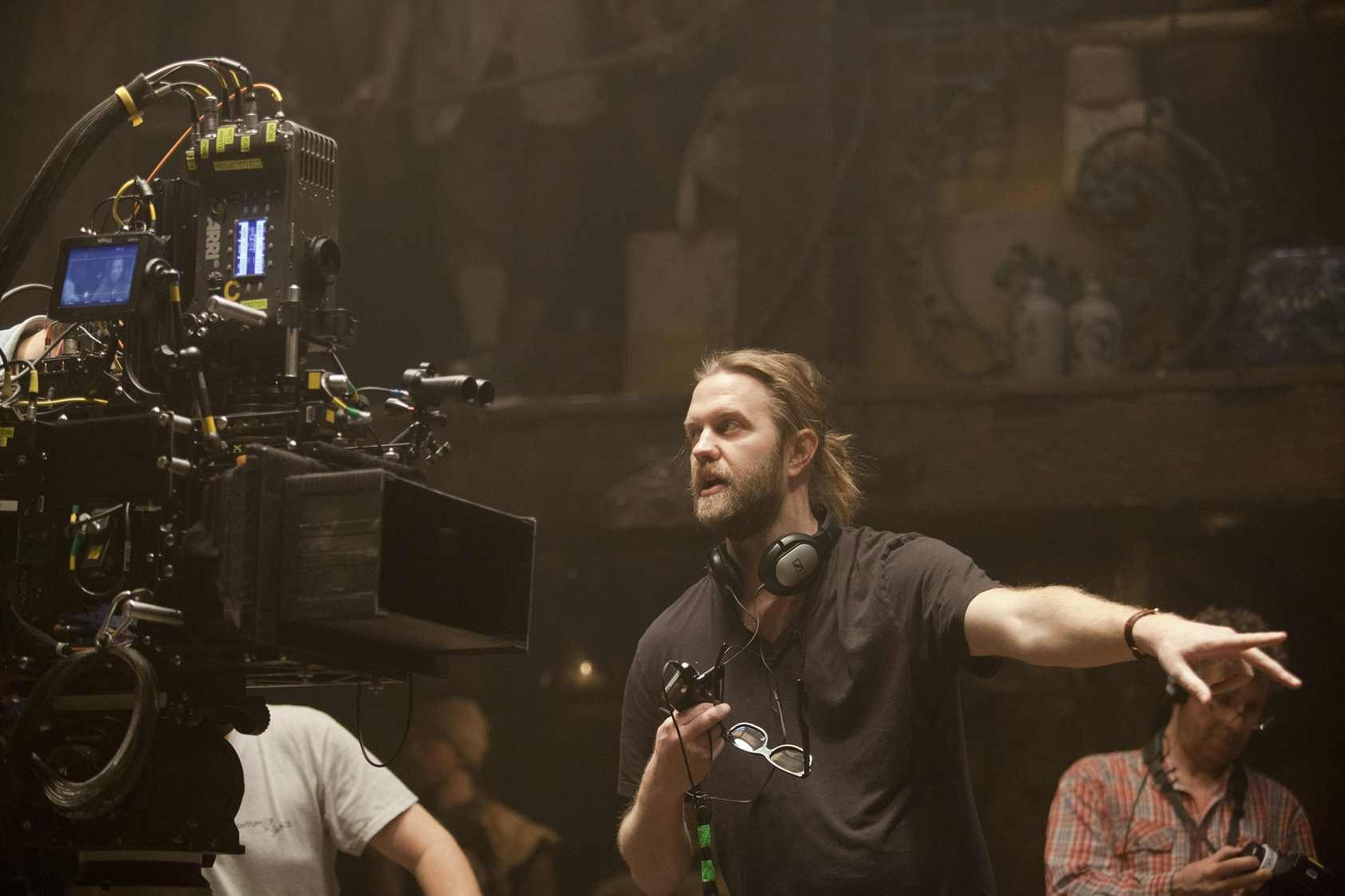 The director Carl Rinsch Behind the Scenes