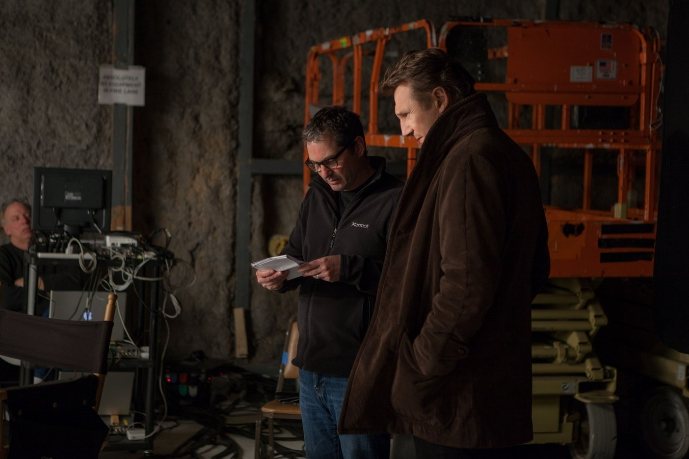 A Walk Among the Tombstones Behind the Scenes Photos & Tech Specs