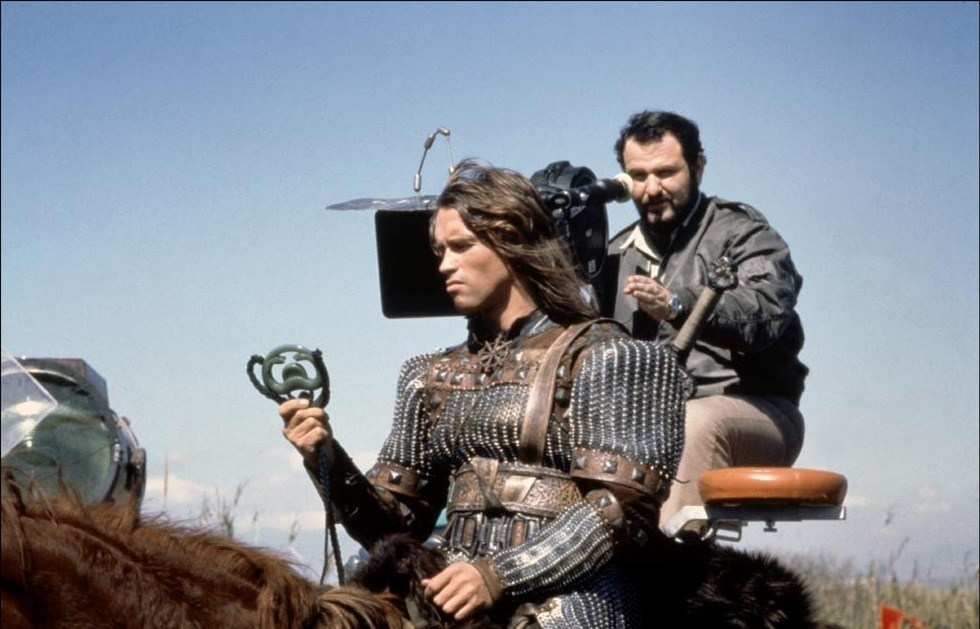Conan the Barbarian Behind the Scenes Photos & Tech Specs