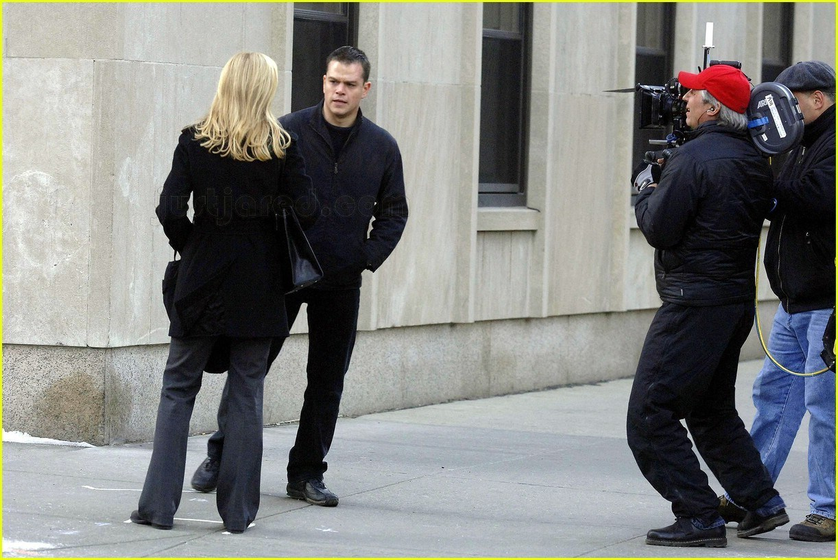 The Bourne Ultimatum Behind the Scenes Photos & Tech Specs