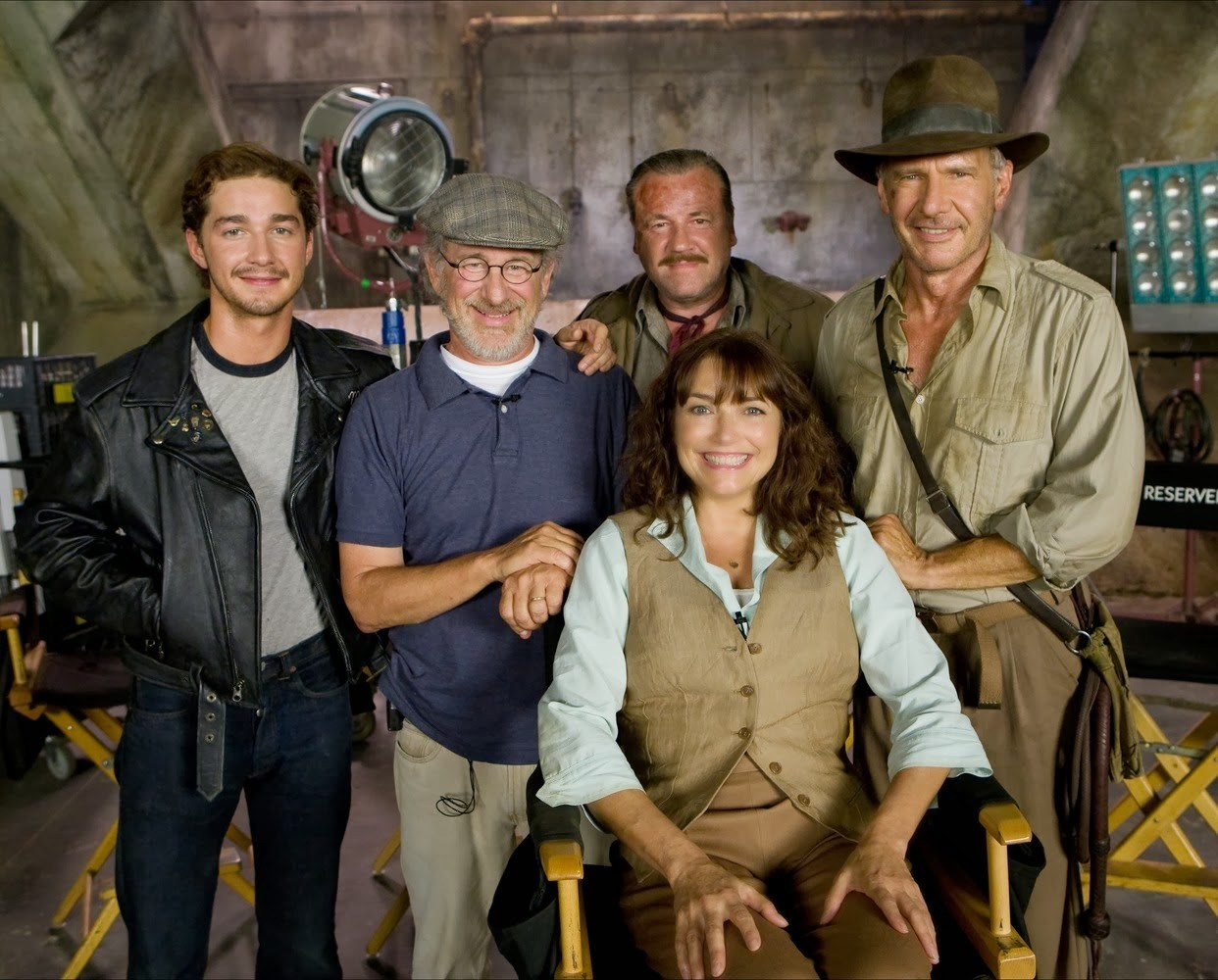 Indiana Jones and the Kingdom of the Crystal Skull Behind the Scenes Photos & Tech Specs