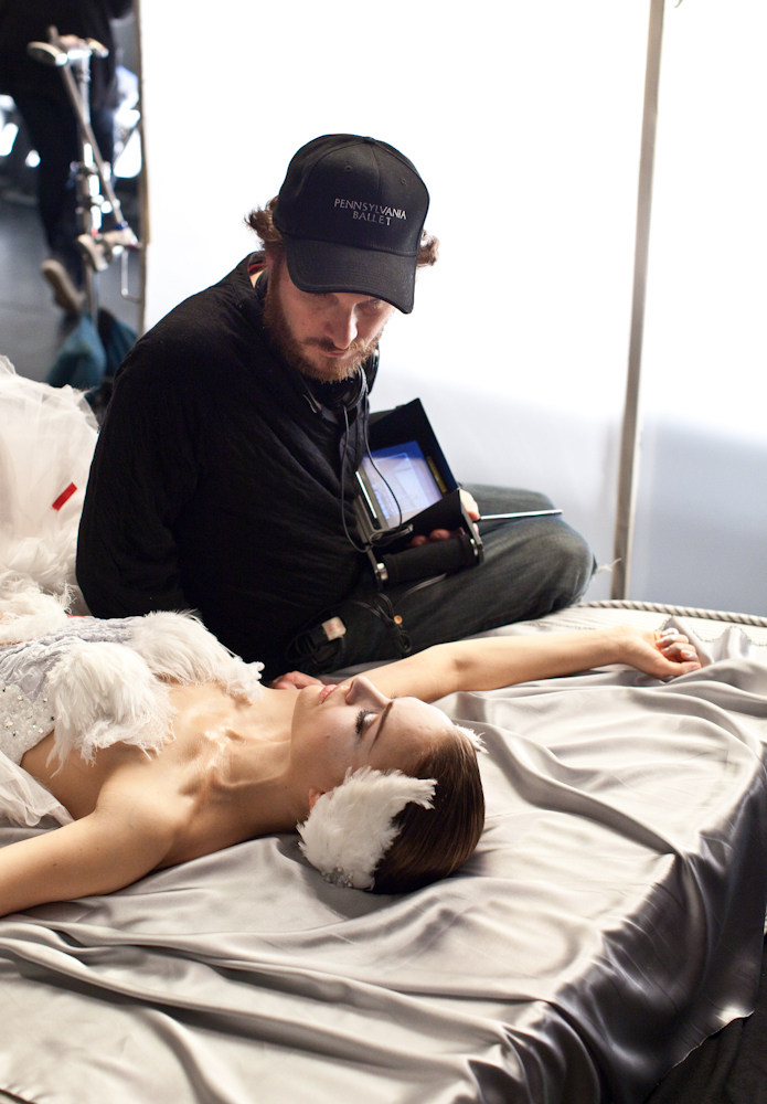 Black Swan Behind the Scenes Photos & Tech Specs