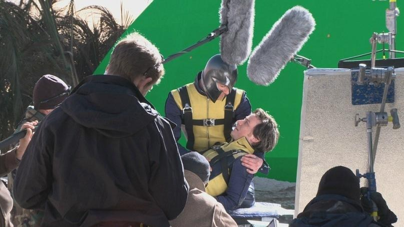 X-Men: First Class Behind the Scenes Photos & Tech Specs