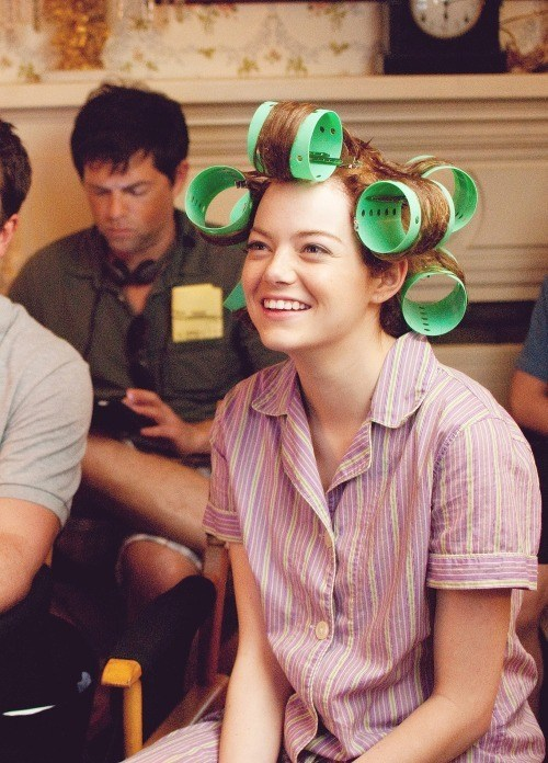 Emma Stone : The Help (2011) Behind the Scenes