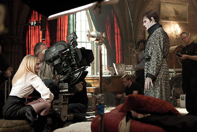 Dark Shadows (2012) Behind the Scenes