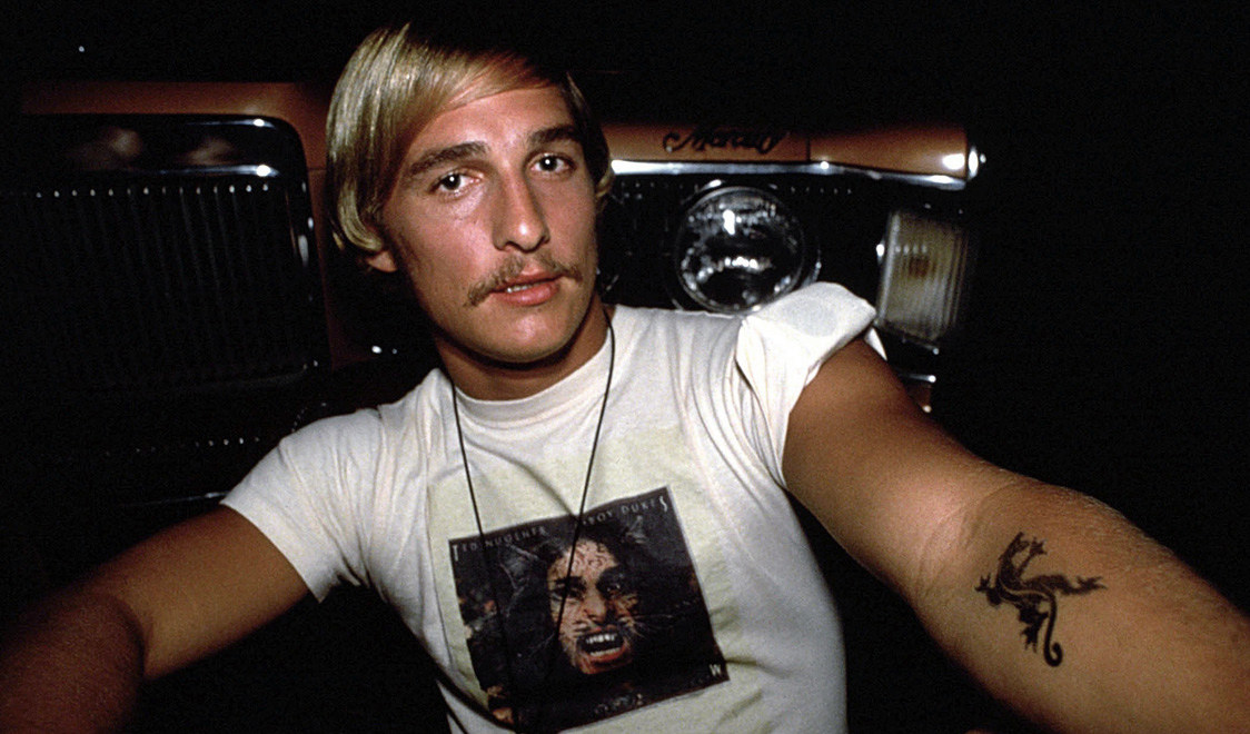 Matthew McConaughey : Dazed and Confused (1993) Behind the Scenes