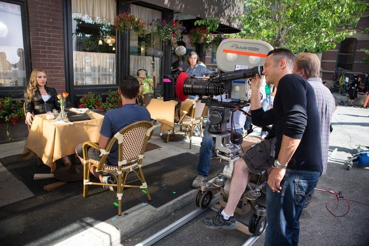A Scene from the Film Don Jon (2013) Behind the Scenes