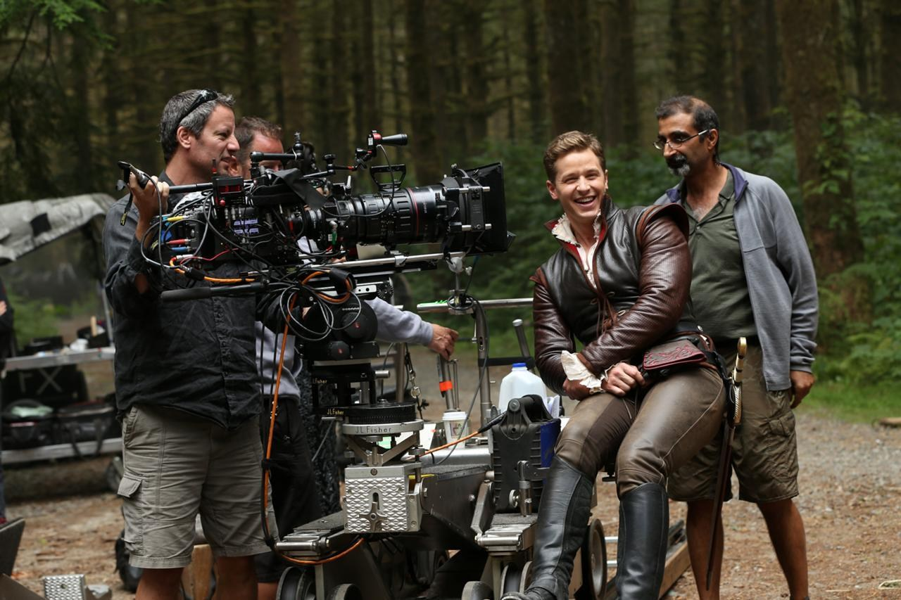 Once Upon a Time Behind the Scenes Photos & Tech Specs