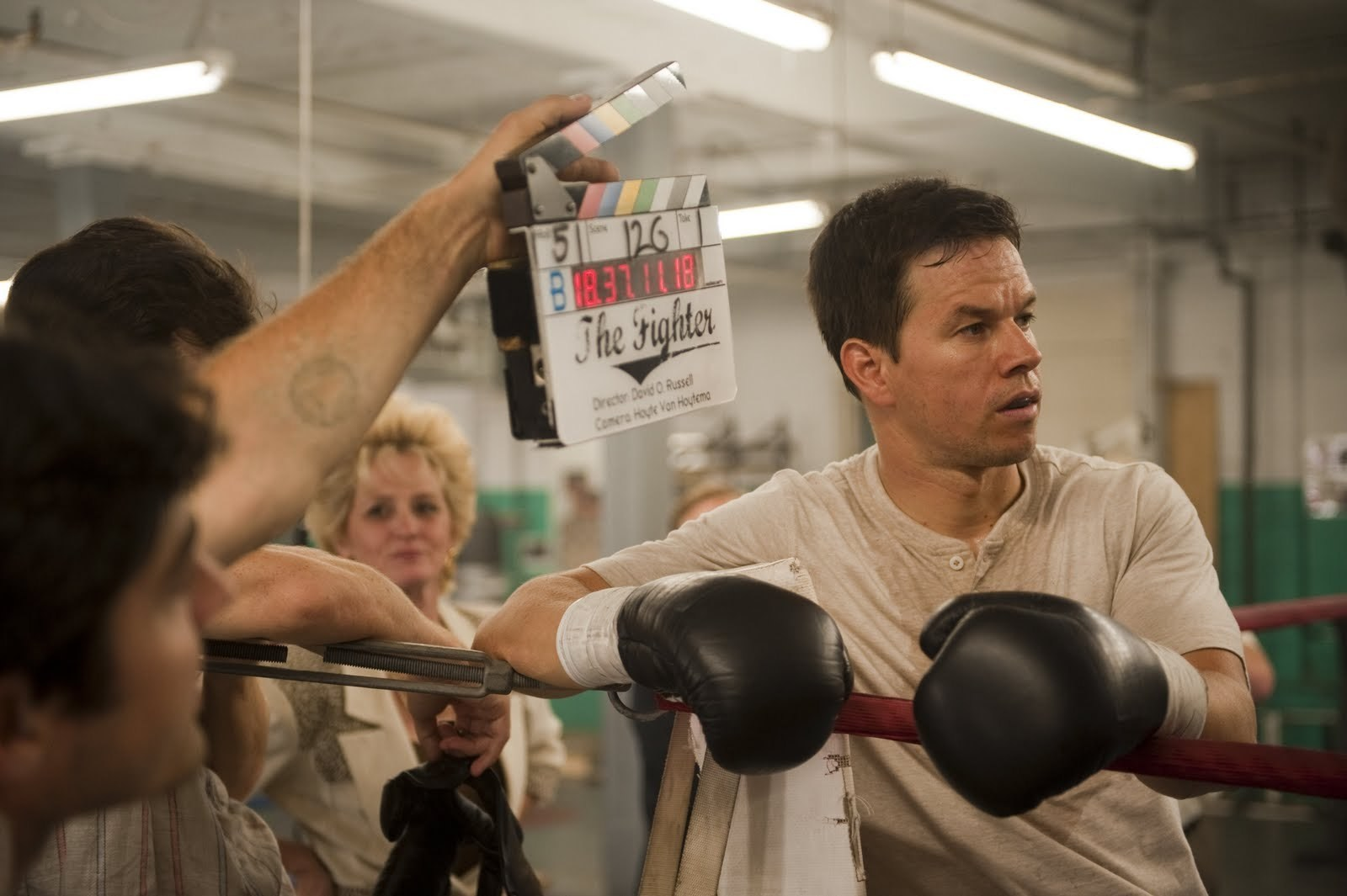 Mark in The Fighter (2010) Behind the Scenes