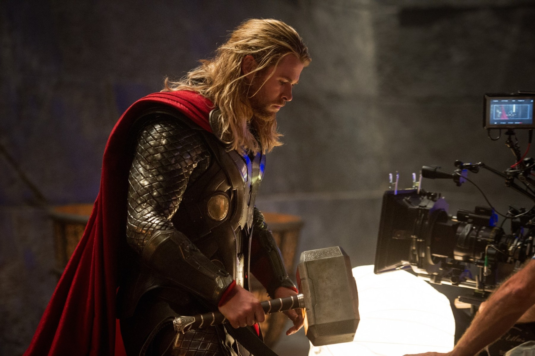 Thor: The Dark World Behind the Scenes Photos & Tech Specs