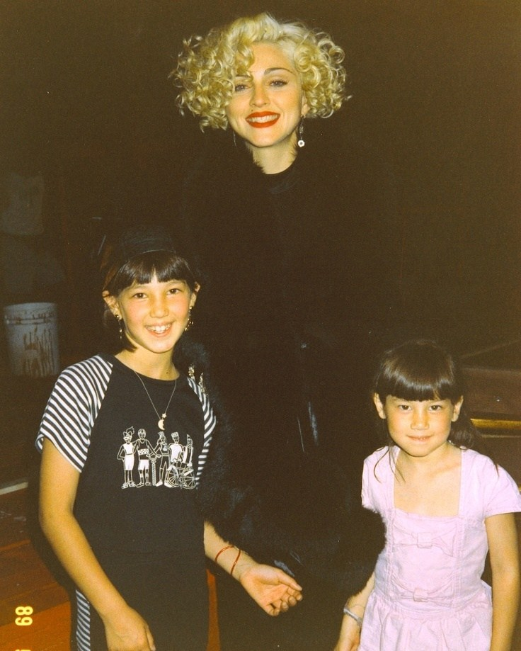 Madonna : Dick Tracy (1990) Behind the Scenes
