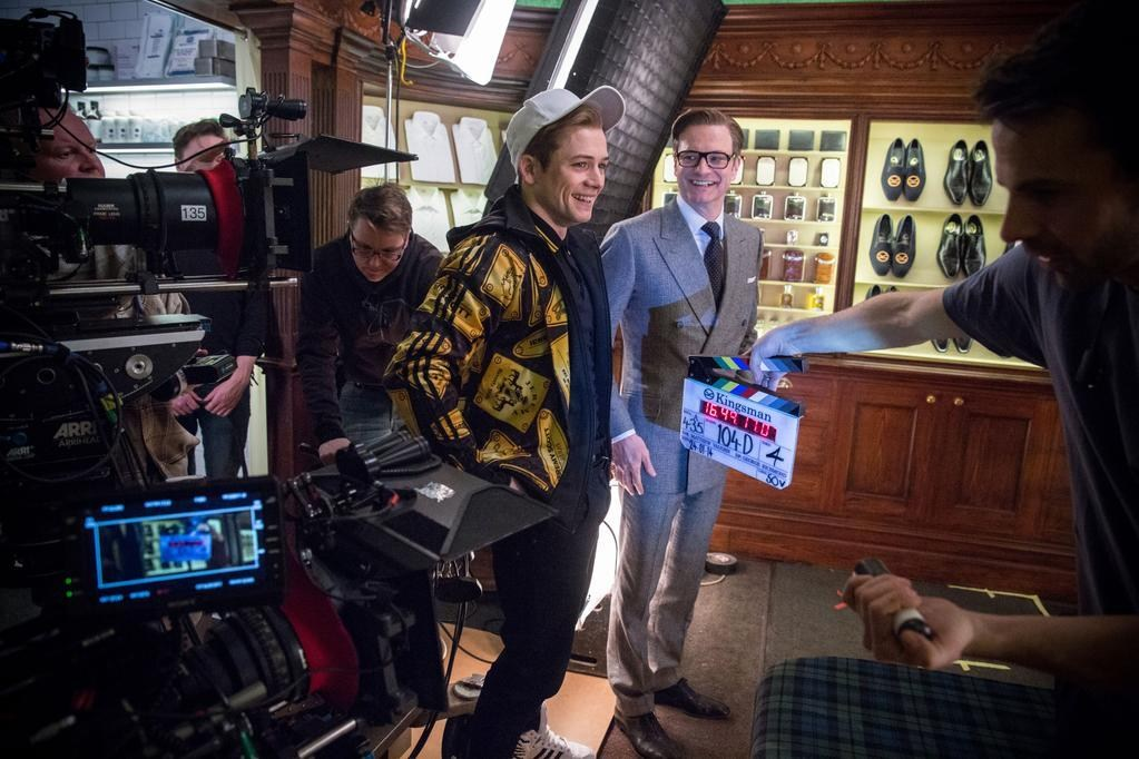 Kingsman: The Secret Service Behind the Scenes Photos & Tech Specs
