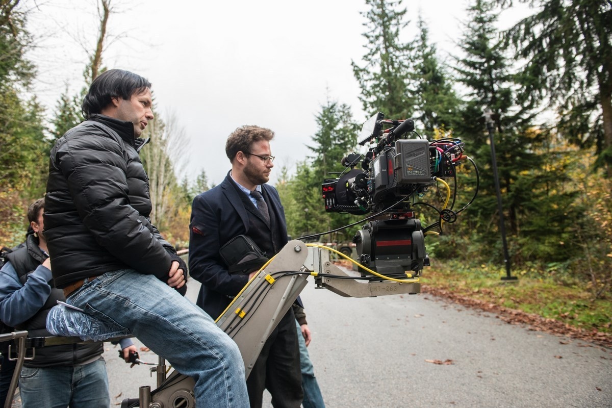 On Location : The Interview (2014) Behind the Scenes