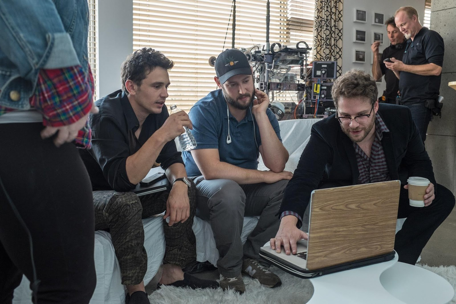 The Interview Behind the Scenes Photos & Tech Specs