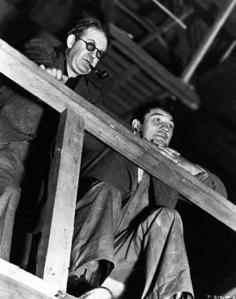 On the Set of The Informer (1935) Behind the Scenes