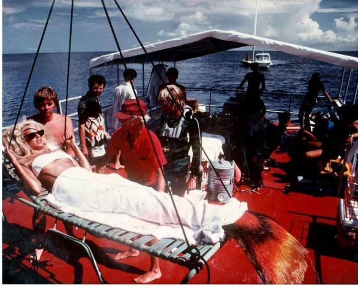 The Mermaid in Splash (1984) Behind the Scenes