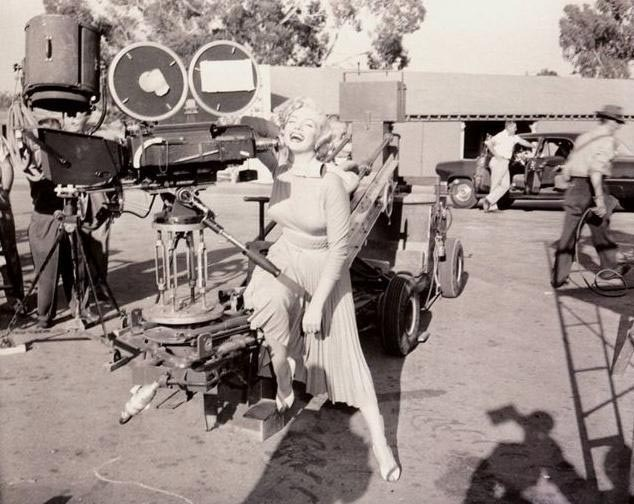 On Set of Monkey Business (1952) Behind the Scenes