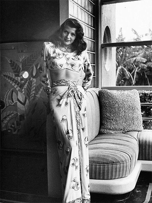 Beautiful Rita as Gilda Behind the Scenes