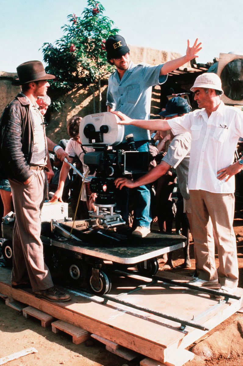 From the Film Raiders of the Lost Ark (1981) Behind the Scenes