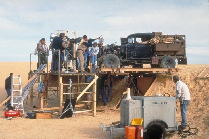 The English Patient Behind the Scenes Photos & Tech Specs