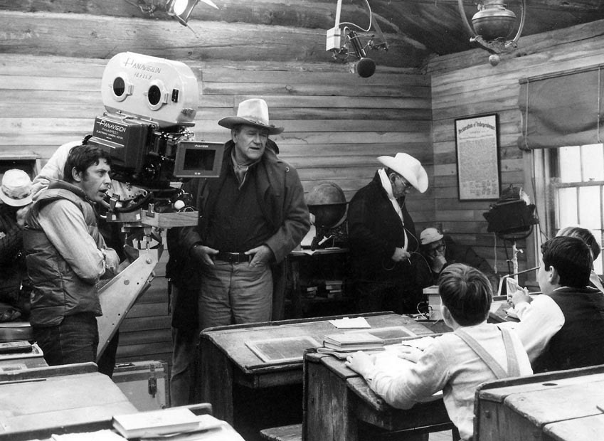 From the Film The Cowboys (1972) Behind the Scenes