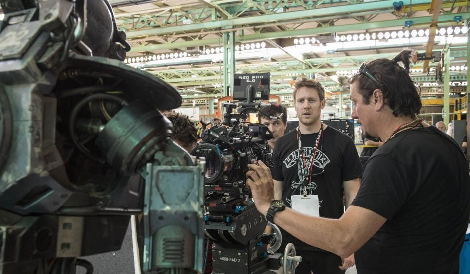 Chappie Behind the Scenes Photos & Tech Specs