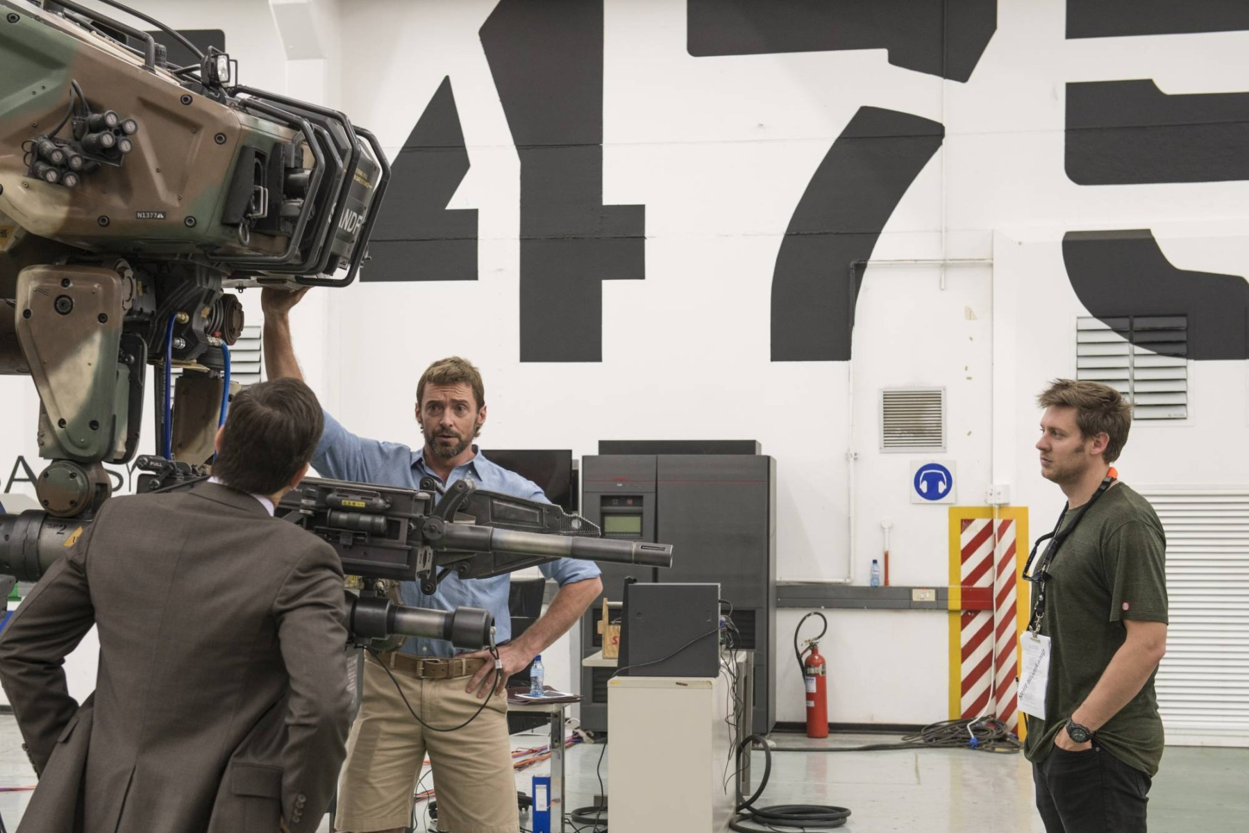 On Set of Chappie (2015) Behind the Scenes
