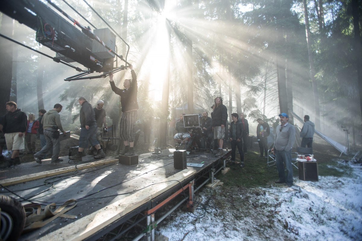 On Set of Child 44 (2015) Behind the Scenes
