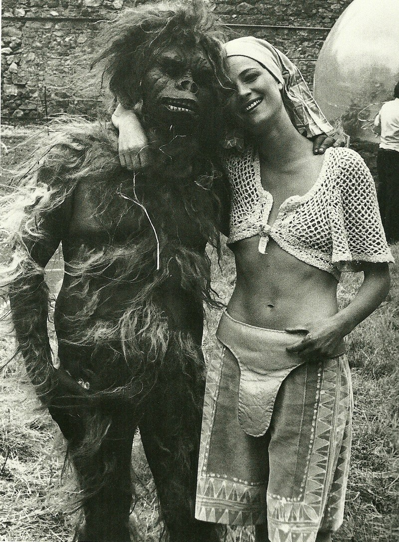 Charlotte Rampling in Zardoz (1974) Behind the Scenes