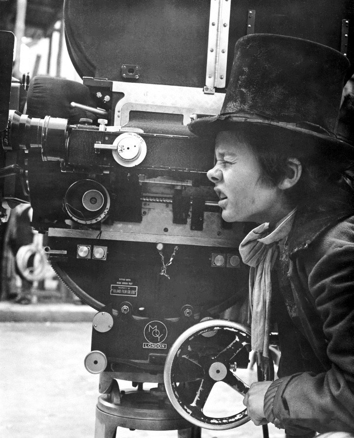 Child Actor Jack Wild on the Set Behind the Scenes