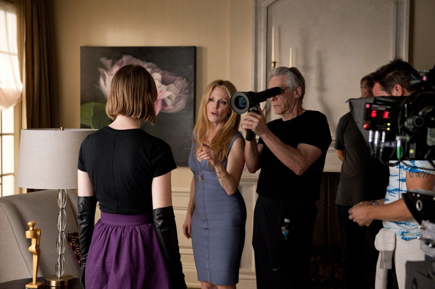 Filming Maps to the Stars (2014) Behind the Scenes