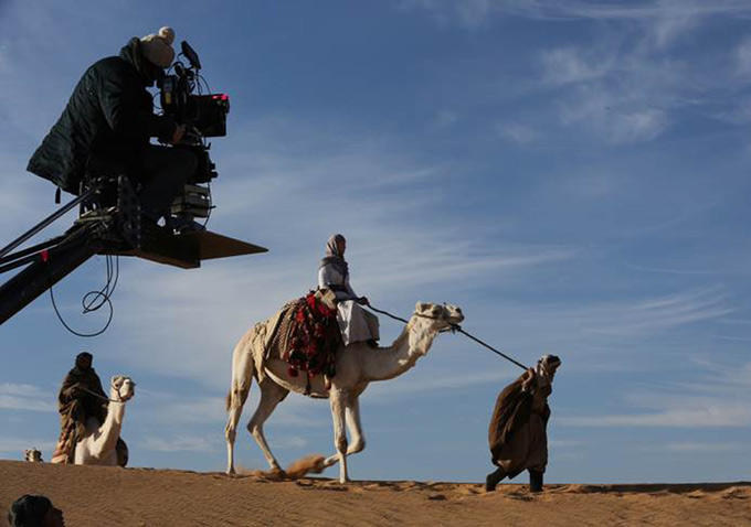 Filming Queen of the Desert (2015) Behind the Scenes