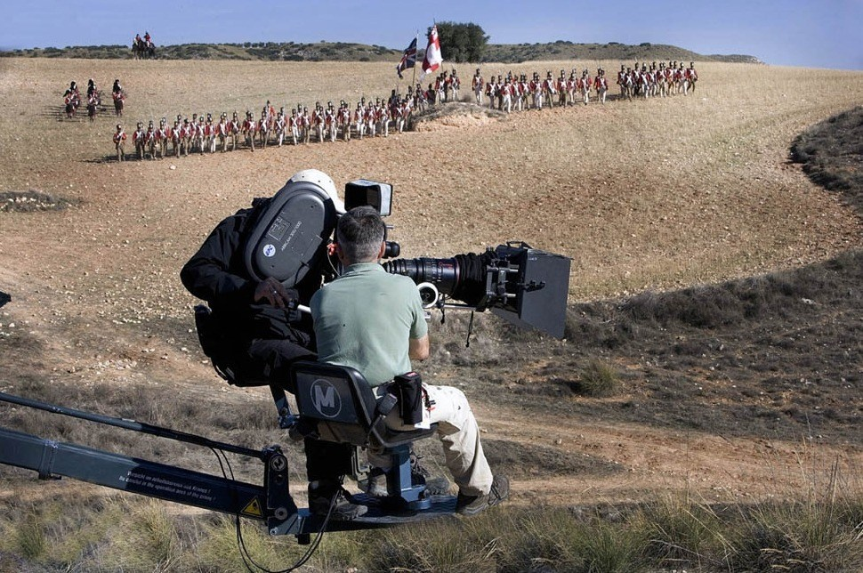 From the Film Goya's Ghosts (2006) Behind the Scenes